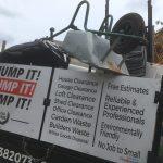 Truck full of household waste
