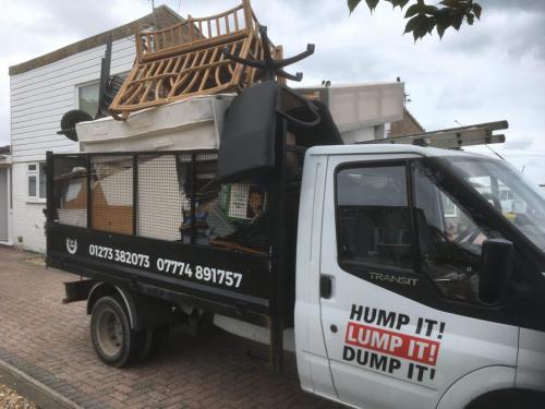 Truck full of household waste - image 3